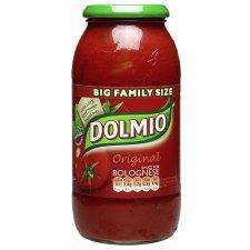Dolmio Original Bolognese Pasta Sauce 750G £1 @ tesco.com