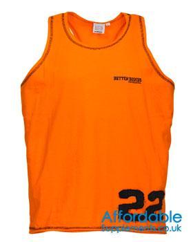 Dallas T Back Vest - Save £2,173.06!!  @ Affordable Supplements
