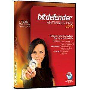 BitDefender Anti-Virus 2011, 3 Users, 1 Year Subscription (PC) - £9.49 Delivered @ Amazon