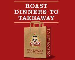 Takeaway roast dinner from £5.49 @ Toby Carvery