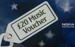 Free £20 Voucher For Nokia Ovi Music @ Facebook