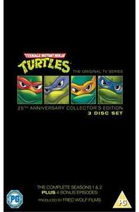 Teenage Mutant Hero Turtles: Complete (90s Original Cartoon) (DVD) - £9.99 @ Play & Amazon