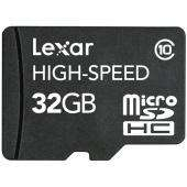 Lexar 32GB Micro SDHC - Class 10 With Reader - £54.99 Delivered @ Play