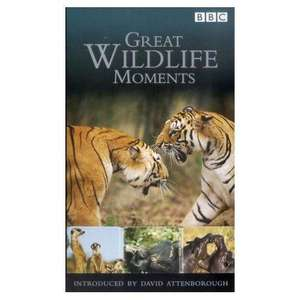 Great Wildlife Moments Introduced By David Attenborough (DVD) - £3.49 @ Amazon