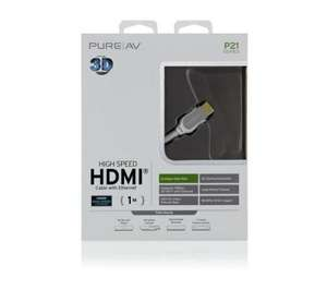 Belkin White Series HDMI 1.4 Cable With Ethernet - 1m - £89.99 Delivered @ Currys