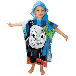 Character Children's Hooded Poncho Towels £3.99 *Instore* @ Home Bargains