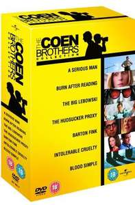 The Coen Brothers Collection 2010 [DVD] - £7.85 Delivered @ Zavvi/The Hut