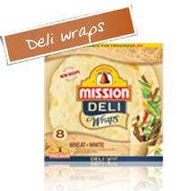 Mission Deli Wraps £1 @ Morrisons