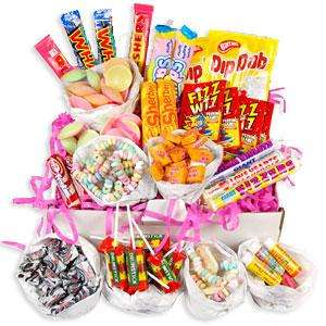 Retro Sweet Hamper just £11.99 + £3.95 delivery Includes Gift Box & Gift Card @Treasure Island Sweets