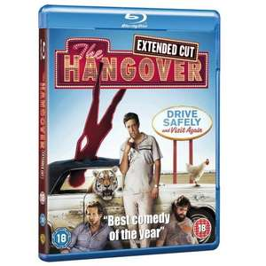 The Hangover: Including Extended Cut On Blu Ray (Region Free) - £8 Delivered @ Amazon