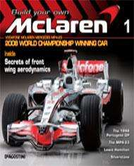 Build your own 1:8 scale 2008 Mclaren F1 car
