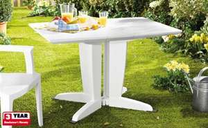 Folding Garden Table with 3 Year Warranty - £29.99 @ Lidl