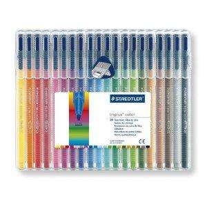 Staedtler Triplus Colour - 20 Pack - £8.50 @ Amazon