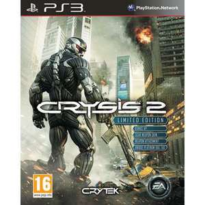 Crysis 2 Limited Edition (Xbox 360) (PS3) - £32.99 (with code) @ Game