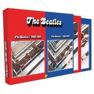 The Beatles: The Beatles 1962-1970: 2010 digital remaster [4 CD Box set] £12.99 delivered @ Amazon (Red / Blue albums)