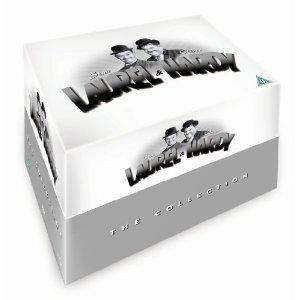 Laurel & Hardy: The Collection Box Set (DVD) (21 Disc) - £20 @ Tesco Entertainment