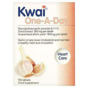 Kwai One-A-Day Garlic tablets, £6.97 + 3 for 2 (usually around £13) @ Tesco