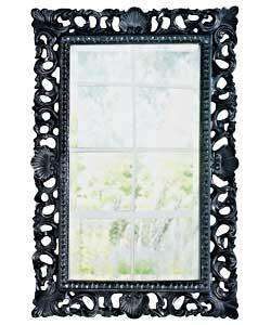 Inspire Rococo High Gloss Wall Mirror - Black. sku: 623/3981 £39.99 @ Argos - can reserve by phone, but not Internet!