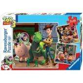 Ravensburger: Disney Pixar: Toy Story 3 - 3 In A Box 49 Piece Jigsaw Puzzles - £3.49 Delivered @ Play