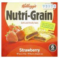 Kellog's nutrigrain strawberry or apple, 6 bars £1.00 @Asda