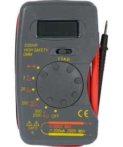 Philex CATII Pocket Digital Test Meter £5.49 at Argos