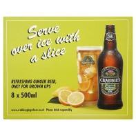 Crabbies Ginger Beer - Asda online & instore - 8 x 500ml - £10 (£1.25 a bottle)