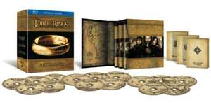 *PRE ORDER* Lord of The Rings Trilogy: Extended Limited Edition On Blu-ray - £49.99 @ Zavvi