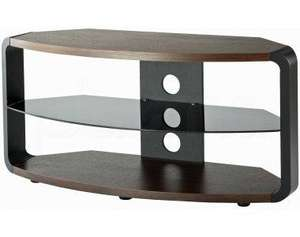 Alphason Cordoba Walnut and Black TV Stand £79.99 @ The Plasma Centre
