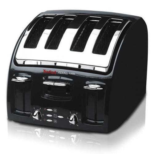Tefal Avanti Black 4 Slice Toaster - 532718 Half Price at £24.99 or £28.94 inc del @ Hanna & Browne