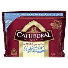 Cathedral City Lighter 350G £4.50 B1G2F @ Tesco