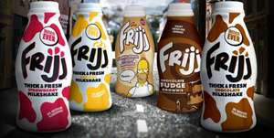 Asda - Frijj Milkshake, All flavour's 50p per bottle