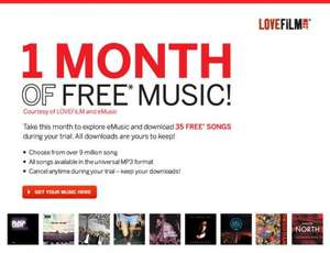 Free 1 Month of Music + 35 Downloads @ eMusic