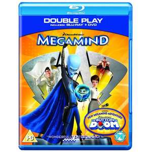 Megamind - Double Play (Blu-ray + DVD) - £12.97 @ Amazon