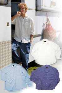 Mens Cosmo Linen Shirt - Was £54.95 Now £6.50 + £4 Postage @ T&G Clothing