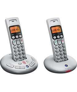 BT Graphite 3500 Telephone with Answer Machine - Twin - Was £79.99 Now £34.99 @ Argos