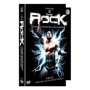 The Rock: The Most Electrifying Man in Sports Entertainment (DVD) (3 Disc) - £9.99 @ Silvervision