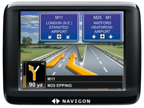 Navigon 20 Easy Europe 23 SatNav with European Maps - £84.59 @ Navigon