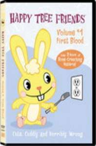 Happy Tree Friends: Vol 1, 2 & 3 (DVDs) - £2.99 Each @ Play