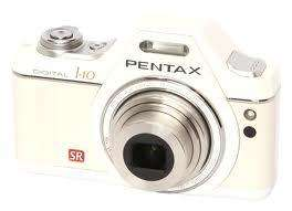 Pentax I-10 12MP Digital Compact Camera - Pearl White - £99.99 @ Argos