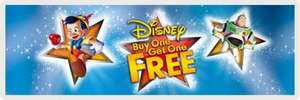 Buy One Get One Free Disney With Free Delivery @ Argos Entertainment