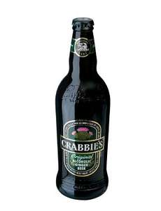 Crabbie's Alcoholic Ginger Beer (500ml) £1.49 a bottle at Lidl