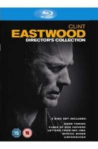 Clint Eastwood: The Director's Collection On Blu-ray (5 Discs) - £17.99 Delivered @ Play