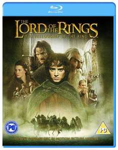 Lord of The Rings The Fellowship of The Ring On Blu-ray - £3.73 @ Amazon Sold By Disk Giant