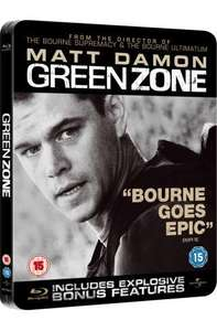 Green Zone Limited Edition Steelbook  On Blu-ray (Region Free) - £6.99 Delivered @ Amazon UK