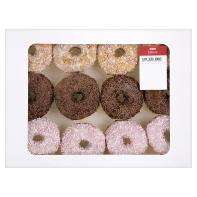 12 White Iced Ring Donuts with Hundreds and Thousands for only £2 at Asda Instores Nationwide and Online.