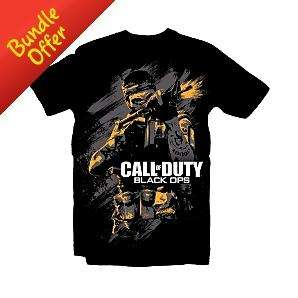 Call of Duty: Black Ops T-Shirt - £2 Delivered Instore & Online @ Asda Direct