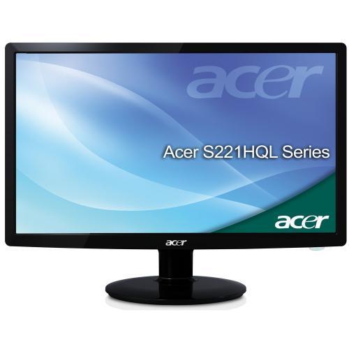 Acer S221HQL 21.5 inch LED TFT Monitor (16:9, 12000000:1, 5ms, 250cd/m2, VGA + DVI (w/HDCP), Black) - (Save £43.44) - £116.55 @ Amazon UK