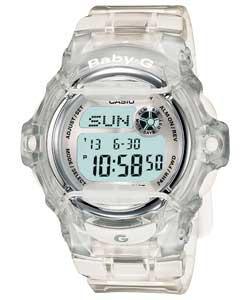 Baby G Casio Clear Jelly Strap Watch - Half Price - £29.99 @ Argos