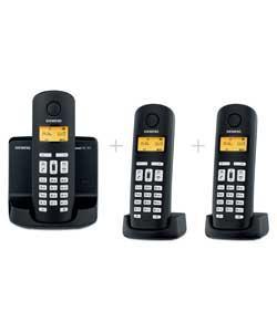 Siemens Gigaset AL145 Telephone with Answer Machine - Triple - £34.99 @ Argos