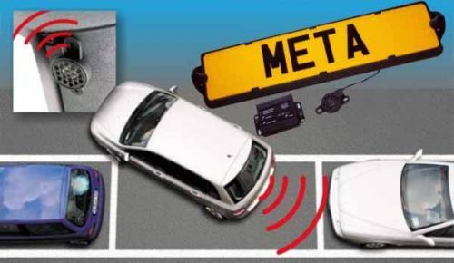 Meta SR2 Targa Parking Sensor System with Free Fitting - £109.99 @ Halfords